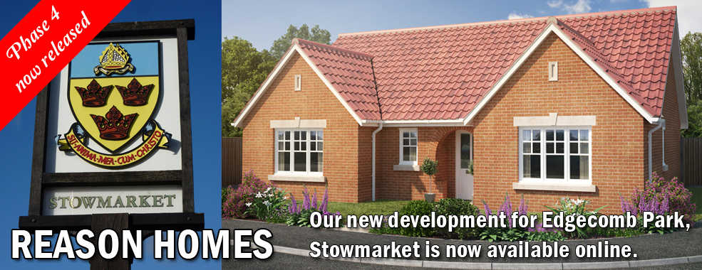 New properties released on our Edgecomb Park Stowmarket development